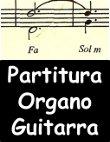 Partitura Salmo para Organo y guitarra
