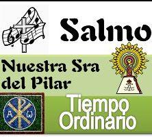 Salmo 12 Octubre Nuestra Señora del Pilar