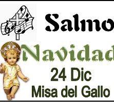 Salmo 24 Diciembre misa del Gallo