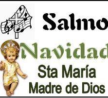 Salmo Santa María Madre de Dios