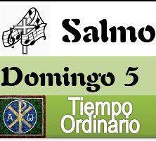 Salmo domingo 5 tiempo ordinario ciclo A