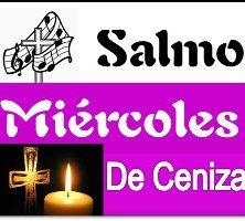 Salmo Miércoles de Ceniza