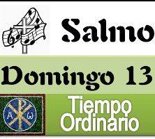 Salmo domingo 13 tiempo ordinario ciclo A