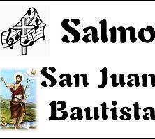 Salmo San Juan Bautista